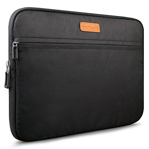 Inateck 15-15.4 Inch Laptop / Notebook / Ultrabook / MacBook Pro Retina/ MacBook Pro 2016/ Dell XPS 15 Sleeve Bag Carrying Case Cover, Water Repellent - Black (LC1500B)