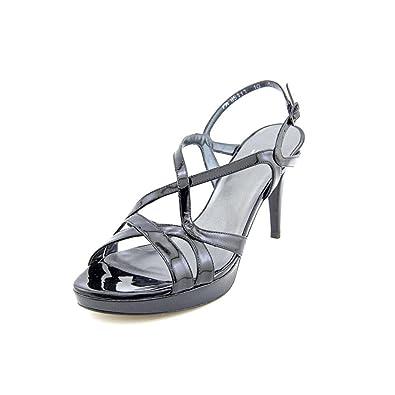 f595e261ee98 Amazon.com  Stuart Weitzman Women s Axis Black Patent Platform 6.5 N  Shoes