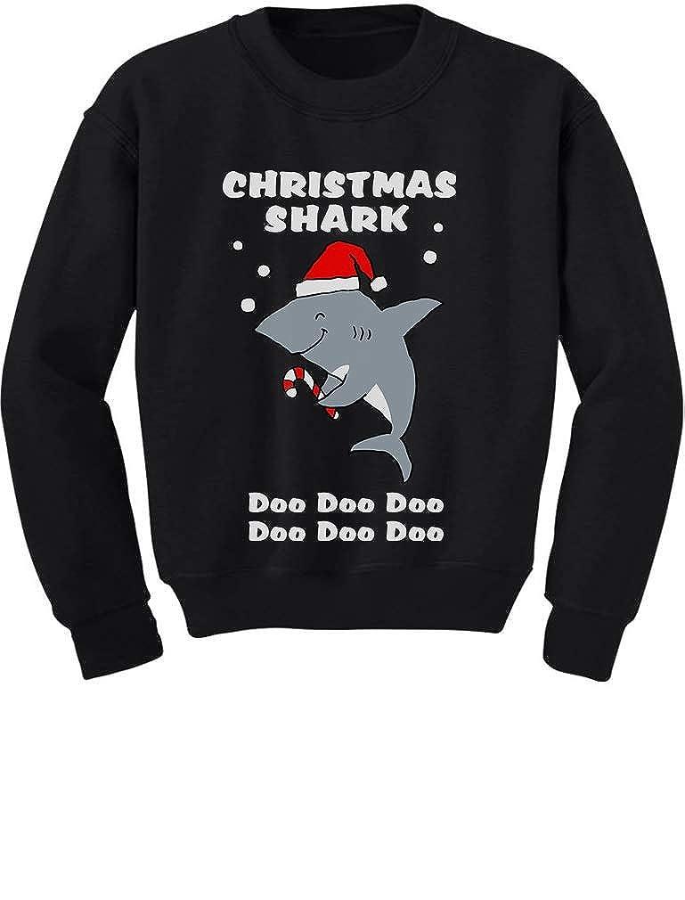 Christmas Shark Do Do Do Cute Toddler//Kids Sweatshirt Tstars
