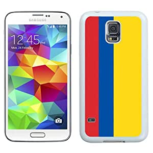 Colombia Flag White Best Sale Fantastic Samsung Galaxy S5 Cover Case