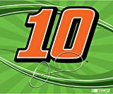 "Danica Patrick #10 5""x6"" Vinyl Auto Decal Bumper Sticker Nascar Racing"