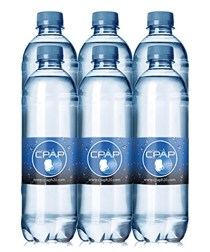 20.0 oz CPAP H20 Premium Distilled Water (Pack of 6) (Best Distilled Water Machine)