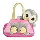 "Aurora Peek A Boo Owl Fancy Pals Purse with 8"" Animal"