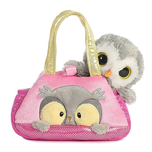 Aurora World Fancy Pals Peek-A-Boo Owl Pet Carrier by Aurora