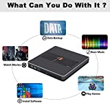 External CD DVD Drive NOLYTH USB C USB3.0 CD