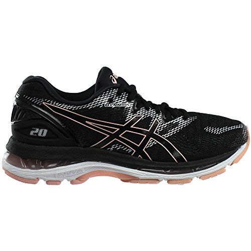 Asics Shoe GEL Performance Women's Rose 20 Frosted 001 Nimbus Black Running T850N rnAqrwYgTx