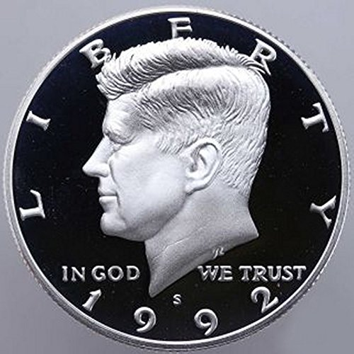 1992 S Gem Proof Kennedy Half Dollar US Coin 1/2 GEM Silver Proof US Mint
