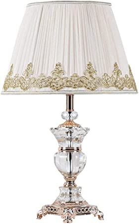 CZWYF Crystal Lamp Bedroom Bedside