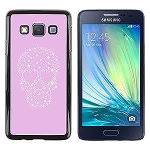 LECELL--Funda protectora / Cubierta / Piel For Samsung Galaxy A3 SM-A300 -- Stars Love Heart Punk Crystal --