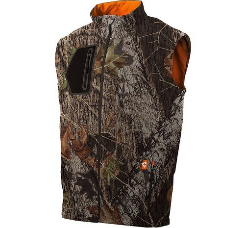 Gerbing's Men's Mountain Sport SoftShell Camo Vest-Medium
