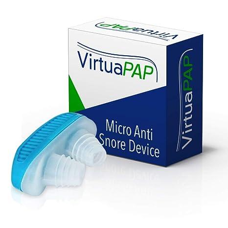 Amazon.com: VirtuaPAP Micro Anti Snore Device - Sleep & Breath Aid (Original): Health & Personal Care