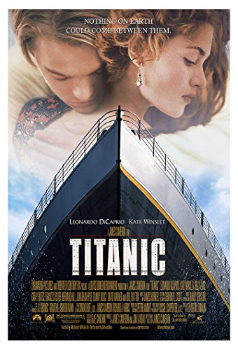 """Titanic Movie Poster  - Size 24"""" X 36"""" - This is a Certified"""