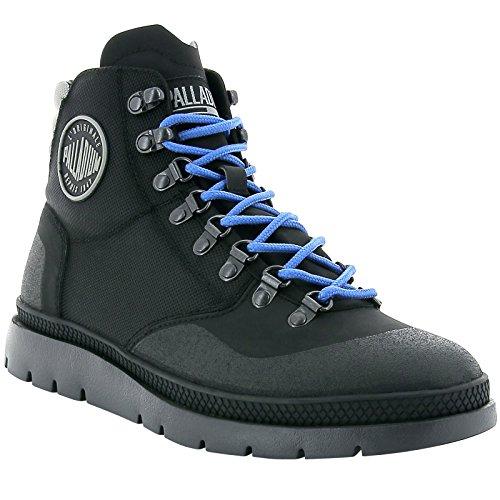 Hiker Pallasider Mid Uomo Palladium Black Boots Black Multicolore Black wRqSEEOtx5