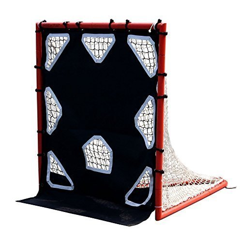 Lacrosse Goal Not Included Predator Sports Lax R.A.T Box 4 x4 Goal Target Return