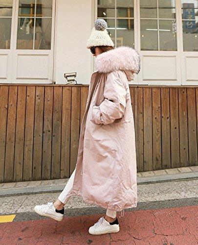 Thick Light Coat Shirt Coat Cotton Wool Coat Cloth Xuanku Top Cotton pink Sleeve Cotton Cw4qAA