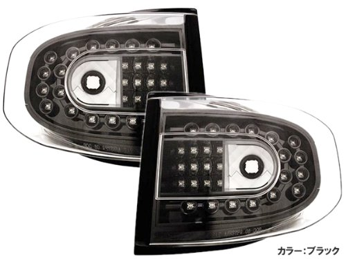 DMT(ディーエムティー) LEDテールランプ Ver,1 左右セット ブラックタイプ FJクルーザー用 B00EUQTMCM