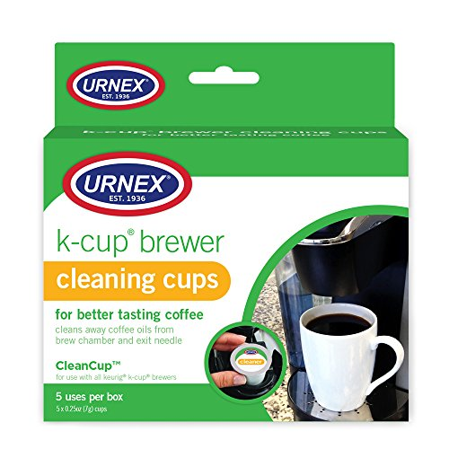 Urnex K-Cup Cleaner - For Keurig Machines Compatible with Keurig 2.0 - Removes Stains Non Toxic