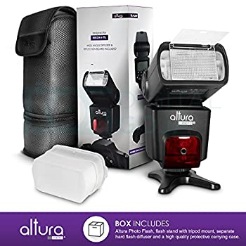 Altura Photo Professional Flash Kit For Nikon Dslr - Includes: I-ttl Flash (Ap-n1001), Wireless Flash Trigger Set & Accessories 11