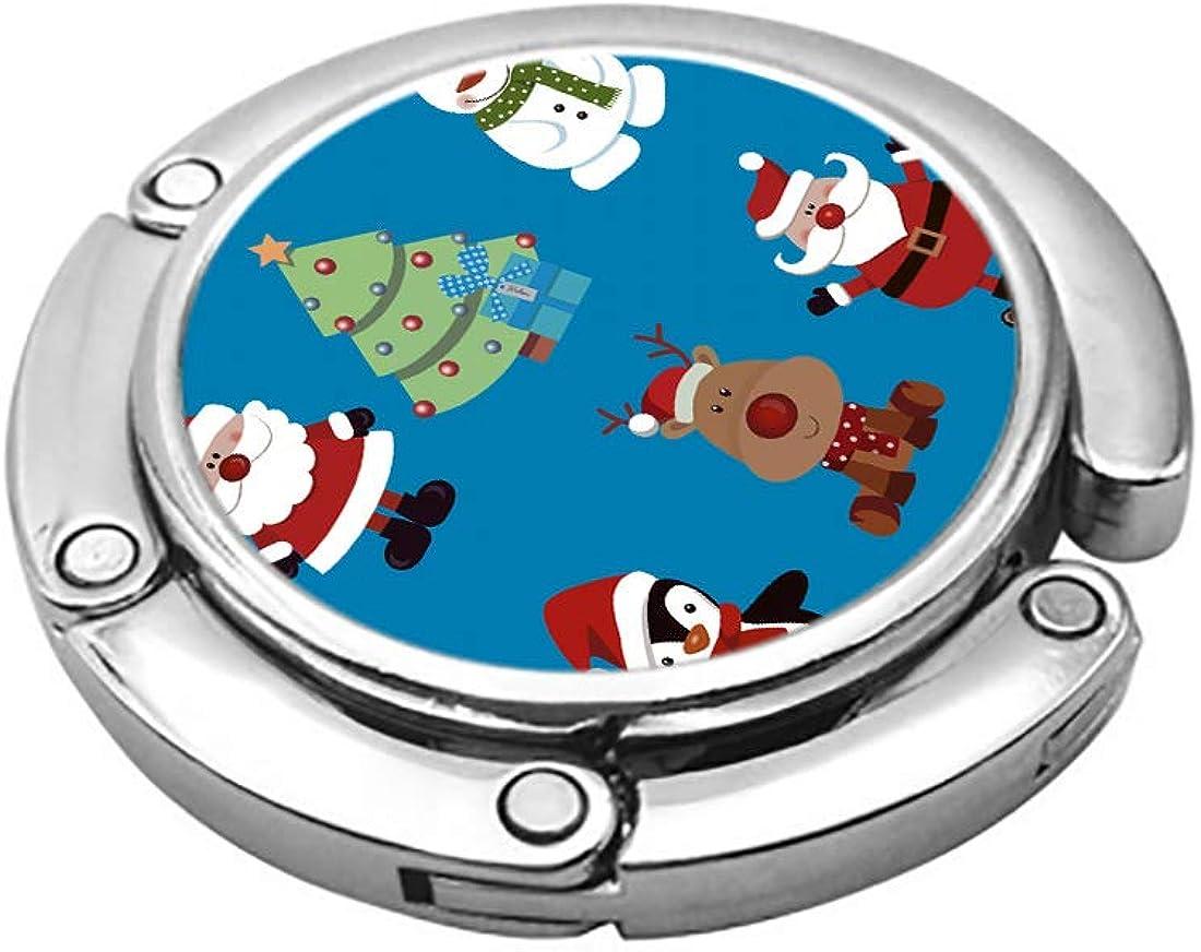 ArtSocket purse hook for table Christmas Santa Claus Penguin Tree bagnet purse magnet