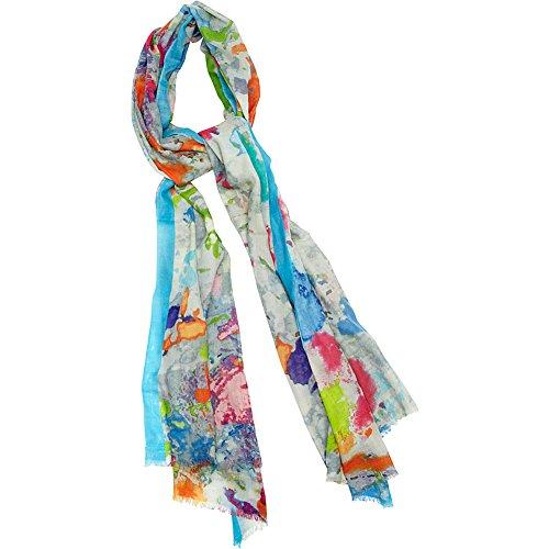 kinross-cashmere-pollack-print-scarf-cornflower-multi