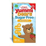 Hero Nutritionals | Yummi Bears | Vitamin D3 | Gummy Vitamin for Kids | Dietary Supplement | Supports Bone, Oral, and Immune Health | No Sugar | 60 Yummi Gummies