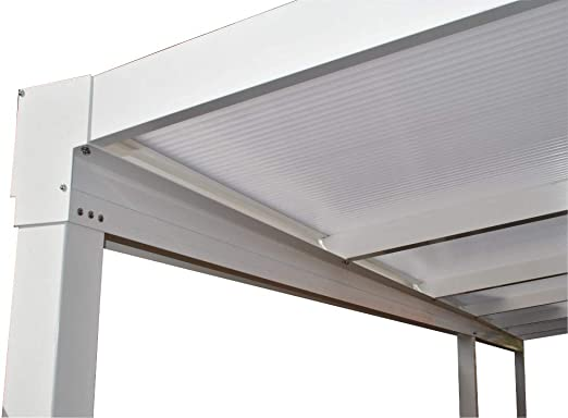 KC Kit Toldo/Policarbonato DIY Carport/Veranda o Patio Cubierta ...