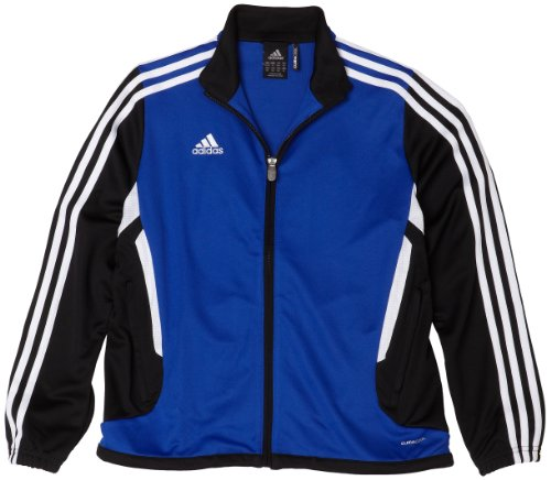 adidas Big Boys' Youth Tiro 11 Training Jacket,Cobalt/Black/White,X-Large