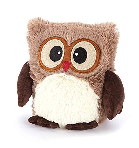 Warmies® Microwavable French Lavender Scented Plush Hooty Brown Owl (Best Place To Live During Global Warming)