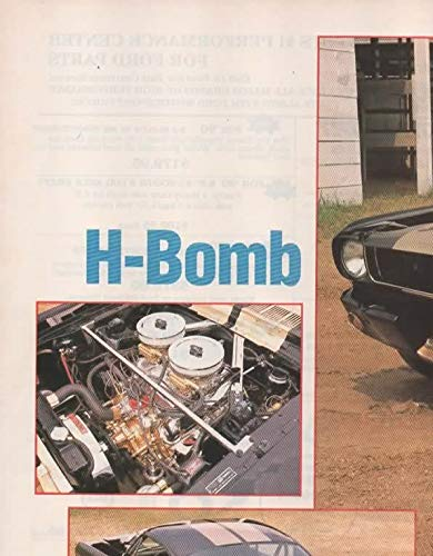 Magazine Print Article: 1990 Dale Nastala, 1965 Ford Mustang Fastback restored as Pro Street Hertz Shelby GT-350H, 1969 302 engine,