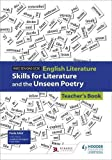img - for WJEC Eduqas GCSE English Literature Skills for Literature and the Unseen Poetry Teacher's Book by Sarah Basham (2015-07-31) book / textbook / text book
