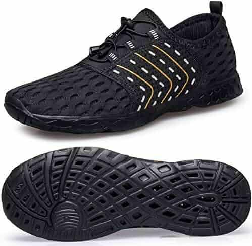 d544d556de1e37 WUTANGCUN Womens Quick Dry Water Shoes Quick Dry for Boating Swim Diving  Aqua Sports Pool Beach