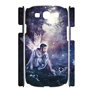ALICASE Cover Case Night Fairy 3D Diy For Samsung Galaxy S3 I9300 [Pattern-1]