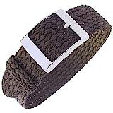 Eulit Palma 20mm Brown Perlon Watch Strap
