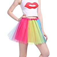 iMixCity Mujer Tutu Falda Tul Short Ballet 3