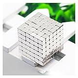 Magnetic Cube Puzzle Toys 5MM 216Pcs Building Blocks Fidget Likee Small Conversion Kit Balls 3D Puzzle Desktop Decoration Intelligence Develop Stress Relieve Creative Gift Educational Toys For Children