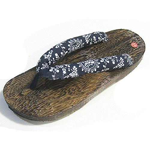 hibote Womens Men Wooden clogs Flip Flops Shoes #Xier H4