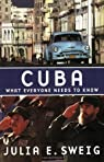 Cuba : What Everyone Needs to Know par Sweig