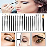 Makeup Brushs Set, ❤️ Elaco 25pcs Cosmetic Eye Makeup Brushes Set Kit Professional