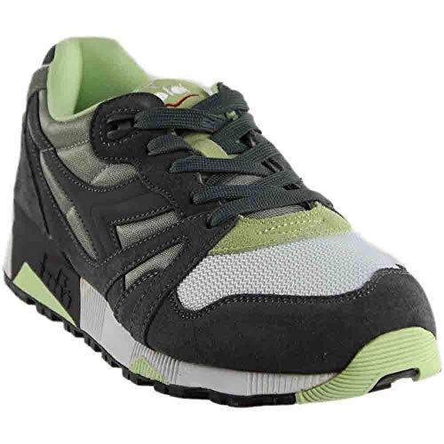 Diadora Mens N9000 NYL Running Sneakers (9, Castle Rock)