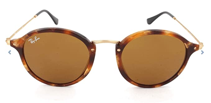 Ray-Ban RB 2447 Gafas de sol, Spotted Brown Havana, 49 para ...