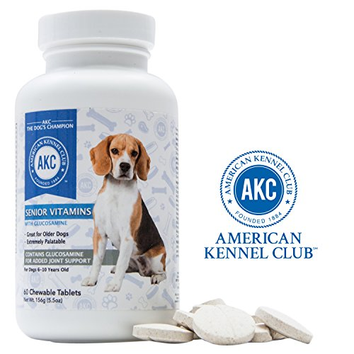 AKC Chewable Senior Dog Multivitamins for Joint Support For Sale