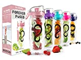 Best Infuser Water Bottles - Live Infinitely 32 oz. Infuser Water Bottles Review
