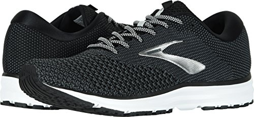 Brooks Men's Revel 2 Black/Grey/Grey 10 D US