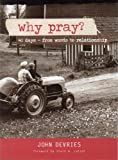Why Pray? (red), John F. DeVries, 0978855159