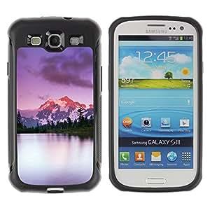Suave TPU GEL Carcasa Funda Silicona Blando Estuche Caso de protección (para) Samsung Galaxy S3 III I9300 / CECELL Phone case / / Mountains Climbing Alaska Lake Nature /