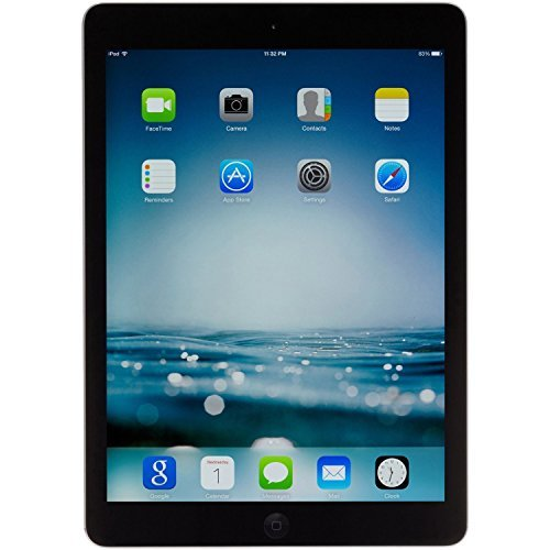 Apple Ipad Air Md786ll A   A1474  32Gb  Wi Fi  Black With Space Gray   Certified Refurbished