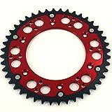 3 16 rivet washers - JFG RACING CNC 44T Rear Chain Sprocket For Honda CR125R 87-07 CR250R 84-08 CR500R 86-01 CRF150F CRF230F CRF230L CRF230M 03-12 CRF250R CRF250X 04-16 CRF450R 02-16 CRF450X 05-16