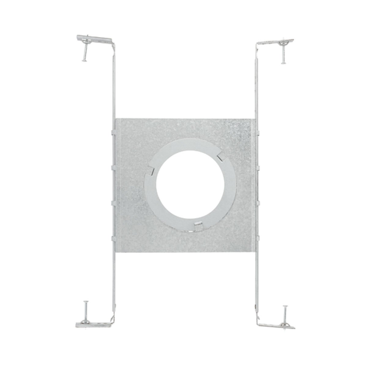 Globe ElectricGlobe Electric 9209901 3 Inch, 4-Inch and 5-Inch All-in-one New Construction Mounting Plate, Recessed Lighting Kit