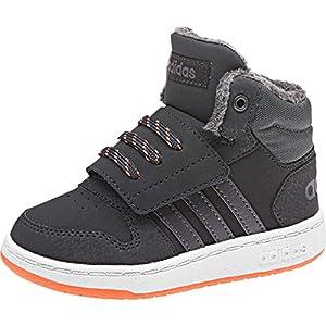 online store 60170 042fe adidas Hoops Mid 2.0, Scarpe da Ginnastica Basse Unisex – Bimbi 0-24
