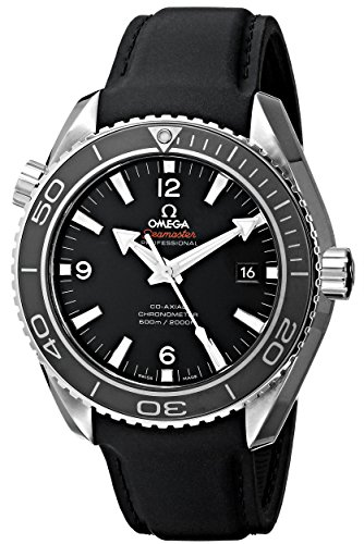 Omega Men's 232.32.46.21.01.003 Seamaster Plant Ocean Black Dial Watch